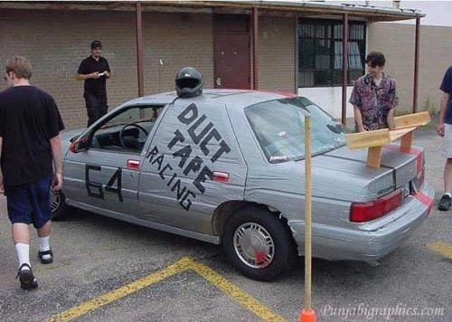 duct tape car 18