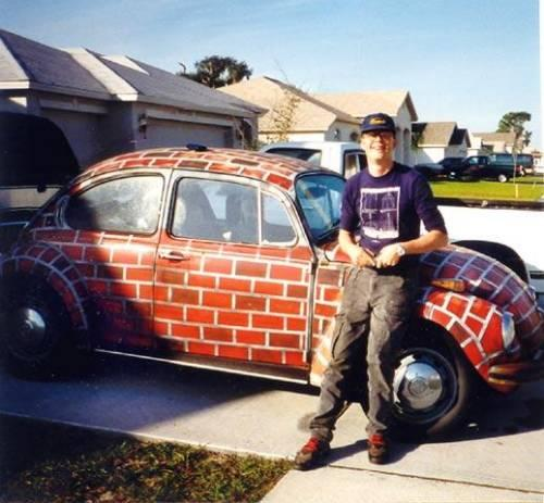 bricks vw beetle