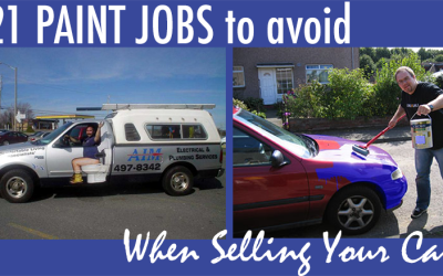 21 Paint Jobs To Avoid When Selling Your Car