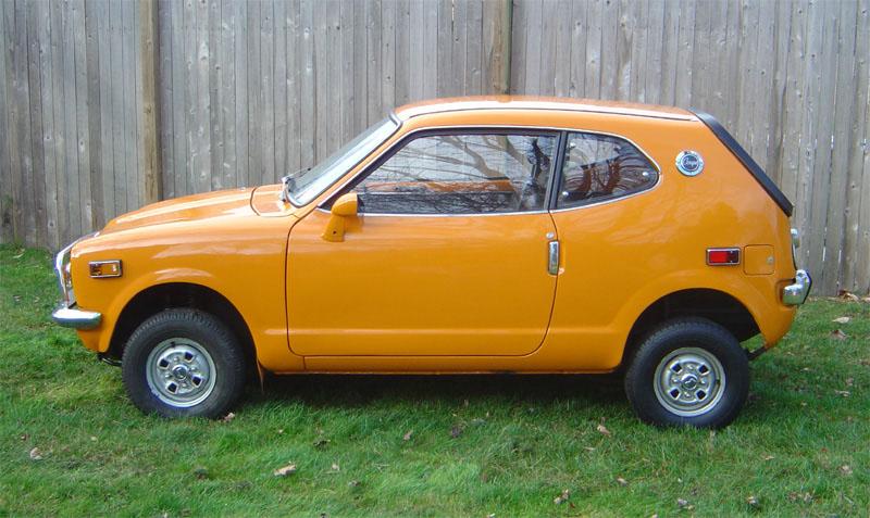 honda 600 coupe 1971